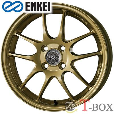 【4本特価】ENKEI PF01 16inch 6.5J PCD:100 穴数:4H カラー: Gold エンケイ ホイール