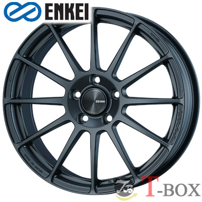 【4本特価】ENKEI PF03 16inch 6.5J PCD:100 穴数:4H カラー : Matte Dark Gunmetallic エンケイ ホイール