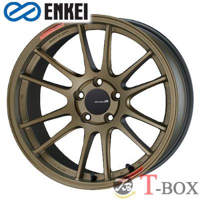 【4本特価】ENKEI GTC01RR 18inch 11.0J PCD:114.3 穴数:5H カラー : Titanium Gold エンケイ ホイール