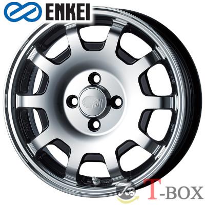 ENKEI all four - KCR - 15inch 5.0J PCD:100 穴数:4H カラー : MB / SS / PW オール・フォー ケーシーアール エンケイ ホイール