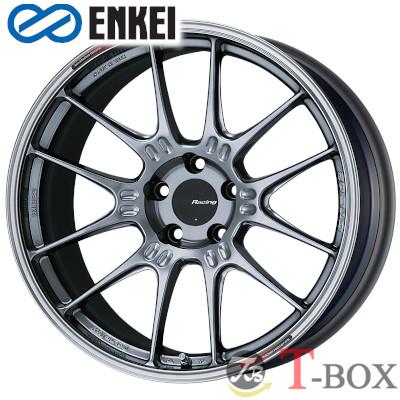【4本特価】ENKEI Racing GTC02 18inch 8.0J PCD:112 穴数:5H カラー : HS / MBK エンケイ ホイール Import car (輸入車用)