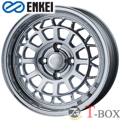 ENKEI all nine 15inch 6.0J PCD:107.95 穴数:4H カラー : Mirror Polish オール・ナイン エンケイ ホイール Import car(輸入車用)