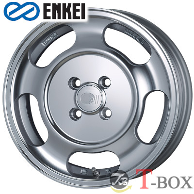 ENKEI all seventeen - DISH - 15inch 5.5J PCD:100 穴数:4H カラー : Machining Silver オール・セブンティーン ディッシュ エンケイ ホイール