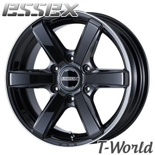 ESSEX Type EC EC-20 20inch 8.5J PCD:139.7 穴数:6H カラー: BRP / HG / PT SBZ / SGM / WP エセックス 【ハイエース200系】