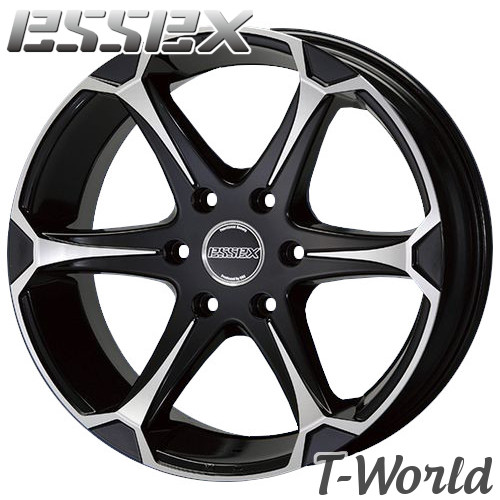 ESSEX Type EJ EJ-18 18inch 8.0J PCD:139.7 穴数:6H カラー: BP エセックス 【ハイエース200系】