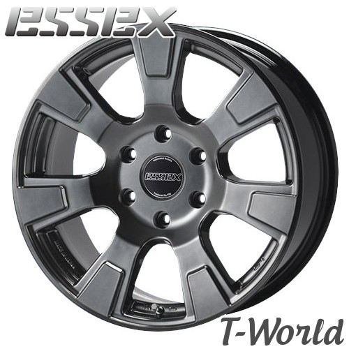 ESSEX Type ES ES-18 18inch 8.0J PCD:139.7 穴数:6H カラー: HG / PT / BZP / WP エセックス 【ハイエース200系】