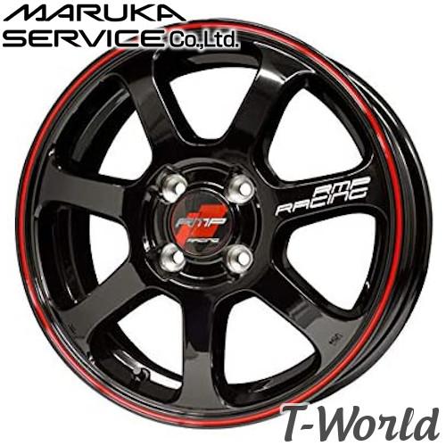 RMP RACING R07 17inch 7.0J PCD:100 穴数:4H カラー:ブラック/リムレッドライン MARUKA MID