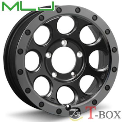 MLJ XTREME-J XJ03 16inch 5.5J PCD:139.7 穴数:5H フラットブラック/スモークフランジ エムエルジェイ エクストリームジェイ 【ジムニー】