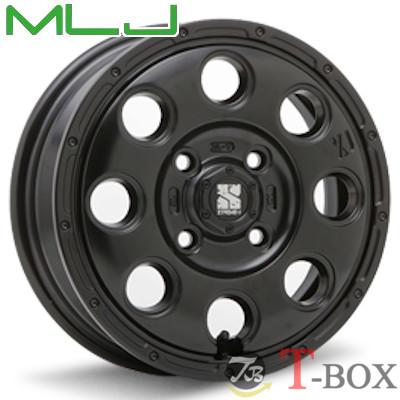 MLJ XTREME-J KK03 15inch 4.5J PCD:100 穴数:4H カラー : サテンブラック エムエルジェイ エクストリームジェイ 【軽自動車全般に】