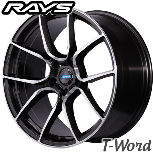 RAYS gram LIGHTS AZURE 57ANA 19inch 8.0J PCD:112 穴数:5H カラー: HF / SA / RB レイズ グラムライツ アズールシリーズ Import car(輸入車用)