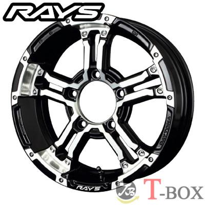 RAYS TEAM DAYTONA FDX-J 16inch 5.5J PCD:139.7 穴数:5H カラー: ブラック/ダイヤモンドカット (DW) レイズ チーム デイトナ
