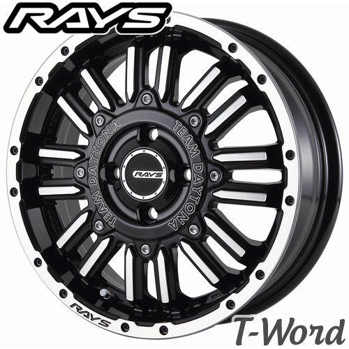 RAYS TEAM DAYTONA MRX.H 15inch 5.0J PCD:100 穴数:4H カラー: KH / OD レイズ チーム デイトナ