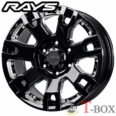 RAYS TEAM DAYTONA FDX F7S 20inch 8.5J PCD:139.7 穴数:6H カラー: BRQ / BNE レイズ チーム デイトナ