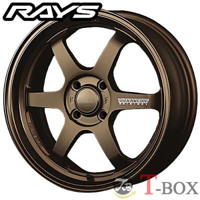 【4本特価】RAYS VOLK RACING TE37 KCR 16inch 6.0J PCD:100 穴数:4H カラー: BR レイズ ボルクレーシング