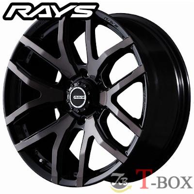 RAYS TEAM DAYTONA FDX F6 17inch 8.0J PCD:139.7 穴数:6H カラー: クリアブラック(KZ) レイズ チーム デイトナ