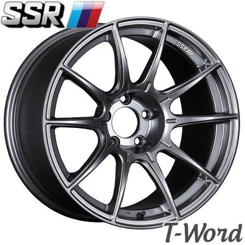 SSR GT X01 17inch 7.0J PCD:100 穴数:4H カラー:DARK SILVER / FLAT BLACK エスエスアール ジーティー エックスゼロワン