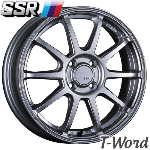 SSR GT V02 16inch 5.5J PCD:100 穴数:4H カラー:ASH SILVER / FLAT BLACK エスエスアール ジーティー ブイ ゼロツー