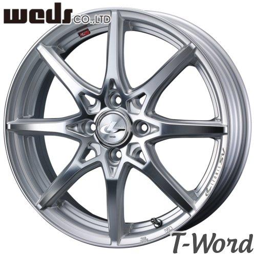 WEDS LEONIS SV 15inch 4.5J PCD:100 穴数:4H カラー:HSMC ウェッズ レオニス エスブイ