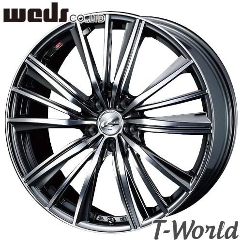 【4本特価】WEDS LEONIS FY 19inch 8.0J PCD:114.3 穴数:5H カラー:BMCMC ウェッズ レオニス エフワイ