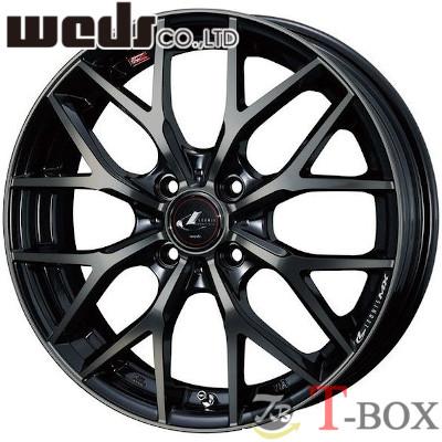 【4本特価】WEDS LEONIS MX 16inch 6.0J PCD:100 穴数:4H カラー:PBMC/TI ウェッズ レオニス エムエックス