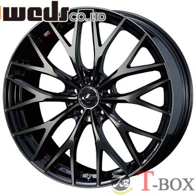 【4本特価】WEDS LEONIS MX 16inch 6.5J PCD:114.3 穴数:5H カラー:PBMC/TI ウェッズ レオニス エムエックス
