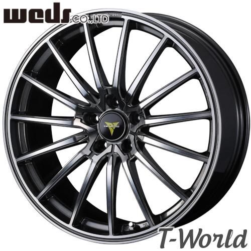 WEDS NOVARIS BEONDE FL 18inch 8.0J PCD:114.3 穴数:5H カラー:グロスガンメタ/ポリッシュ ウェッズ ノヴァリス ビオンド