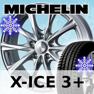 【取付対象】?スタッドレスタイヤ? サイズ : 235/60R18 MICHELIN X-ICE 3+ ?ホイール? サイズ : 18×7.5J 5H WEDS JOKER MAGIC 送料無料 (一部地域除く)タイヤホイールセット1台分価格*きでの購入*