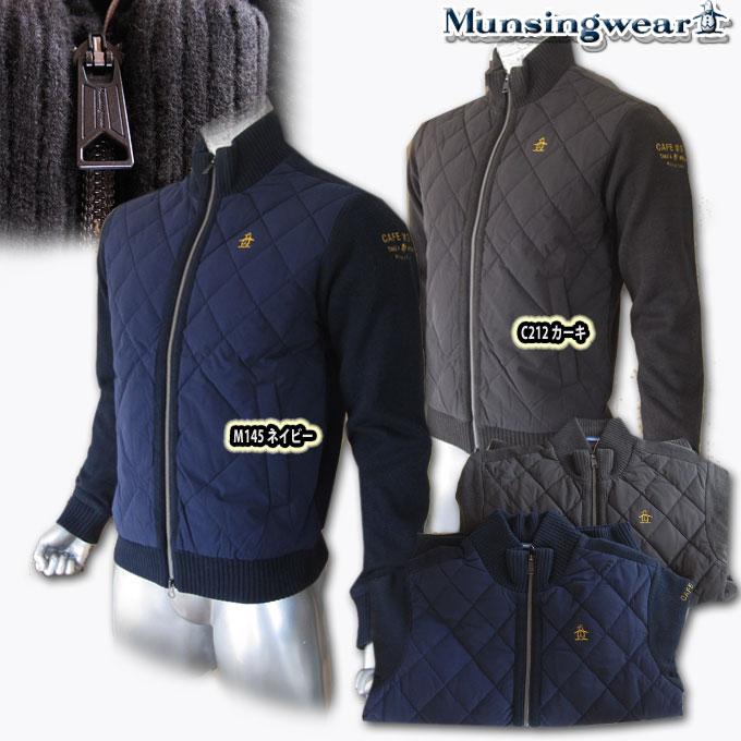 マンシングウェア(Munsingwear) ハイブリッドDOWNダウンブルゾン