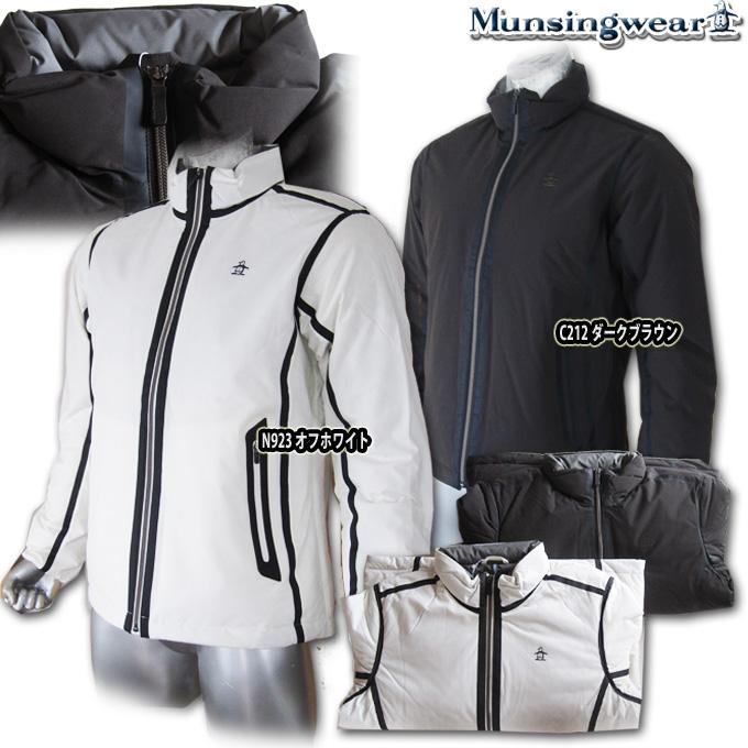 マンシングウェア(Munsingwear) ハイブリッドDOWNブルゾン