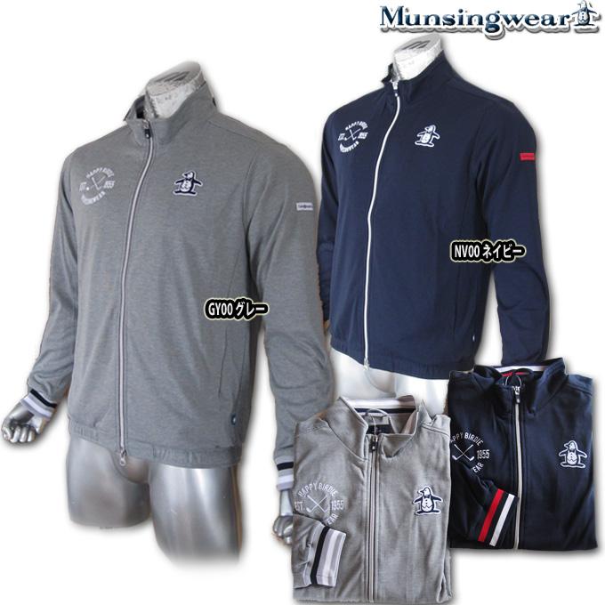 マンシングウェア(Munsingwear) フルジップスウェット