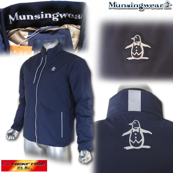 マンシングウェア(Munsingwear) Heat Navi ボクシーダウンジャケット