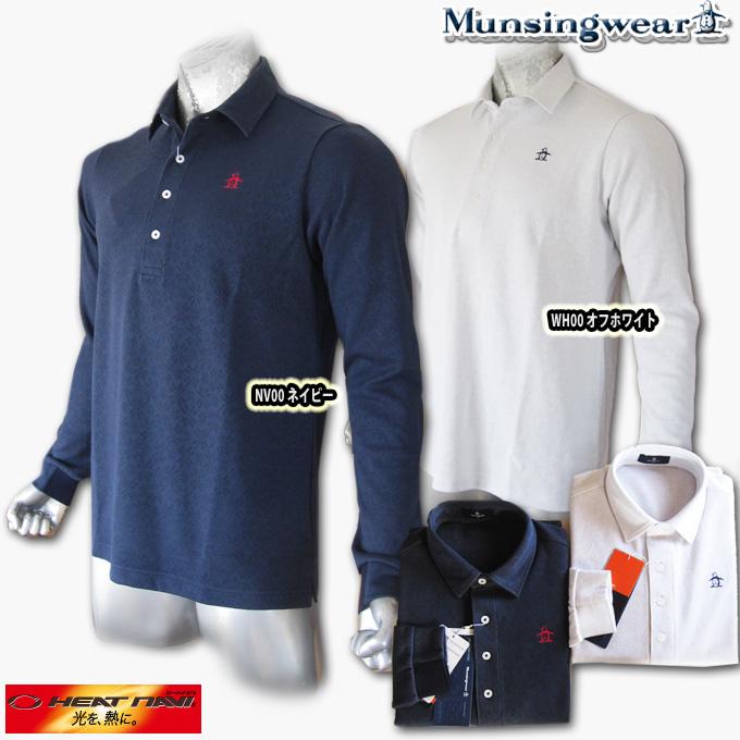 マンシングウェア(Munsingwear) Heat Navi ジャガードポロ