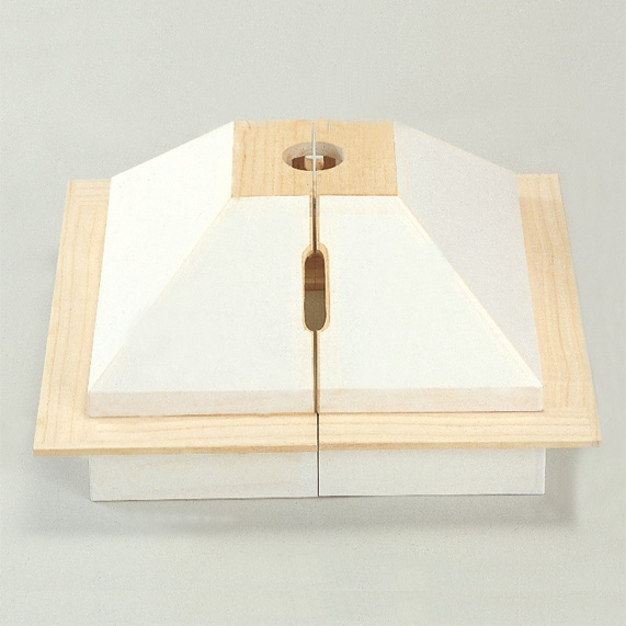 【茶道具/ じょたん】助炭(上)焦縁分割式【国内配送料無料】【代引手数料無料】