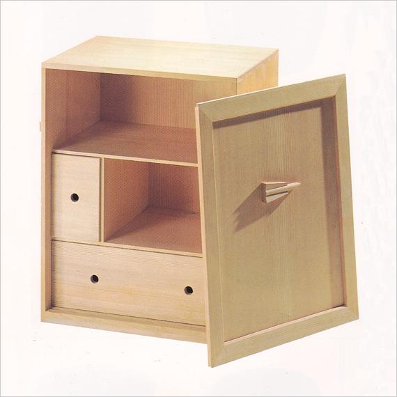 【茶道具 懐石】懐石道具一式収納木箱【国内配送料無料】【代引手数料無料】