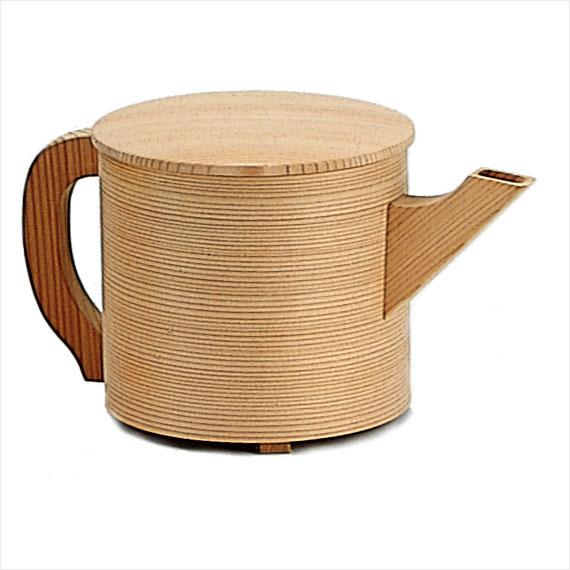 【茶道具/水注(水次)】杢仙作 曲片口水注 上【水注ぎ】