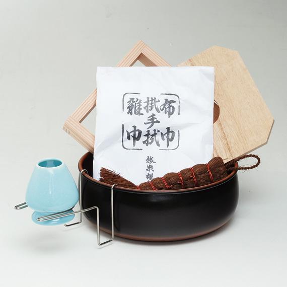 【茶道具/ 水屋道具】 茶巾たらいセット【国内配送料無料】【代引手数料無料】