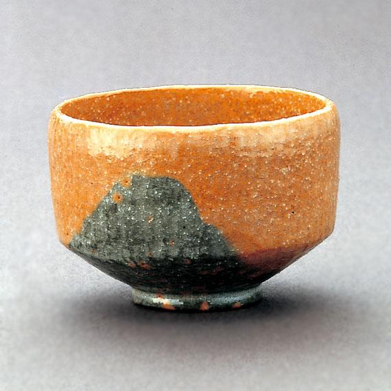【茶道具/楽茶碗】初代長次郎(利休七種の内)/赤茶碗 早舟 (写)
