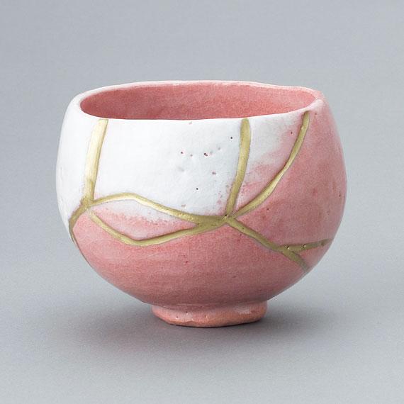 【茶道具/楽茶碗】本阿弥光悦/重要文化財 赤茶碗 銘「雪峰」 (写)