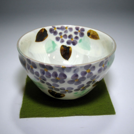 【茶道具 / 抹茶碗】 花言葉のお茶碗 6月・紫陽花