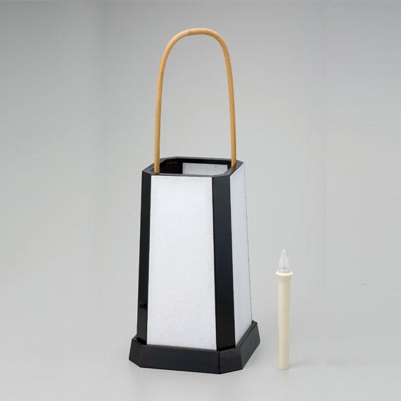 【茶道具/夜咄(よばなし)】足下行燈(あしもとあんどん) 塗