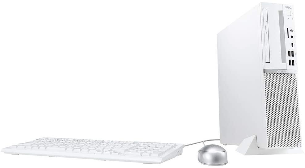 デスクトップパソコン NEC LAVIE Direct DT (ホワイト) (Core i5/8GBメモリ/256GB SSD/1TB HDD/Office Personal 2019/Windows 10 Home/モニターなし)