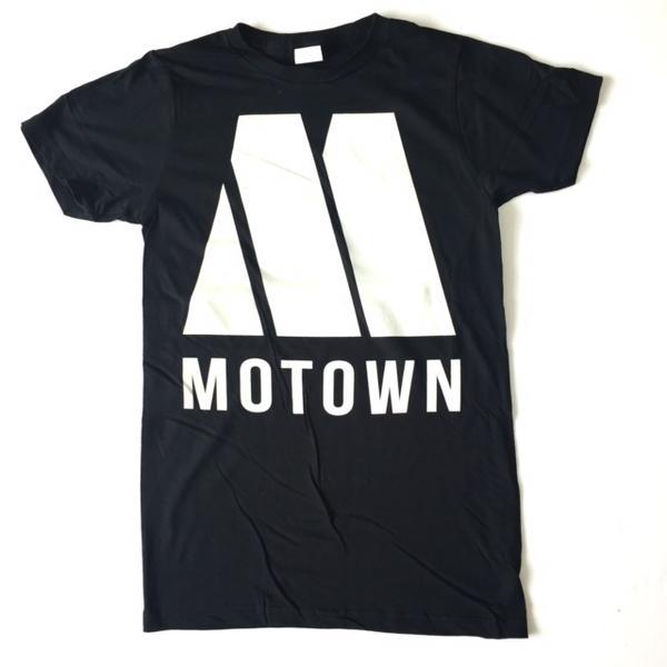 Tab11: Lock T T-shirt Label T Shirt MOTOWN Motown Records