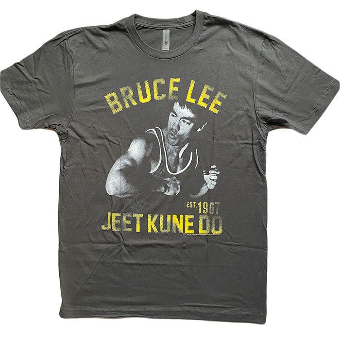 American Classics Bruce Lee Box Smirk T-Shirt Black Heather