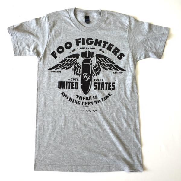 foo fighters t shirt nz