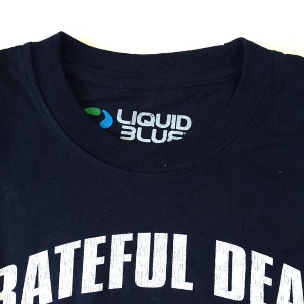 """锁头T恤·带T恤""""Grateful Dead/灰色托福·死亡""""CHICAGO深蓝T恤ROCK人T恤T恤"""
