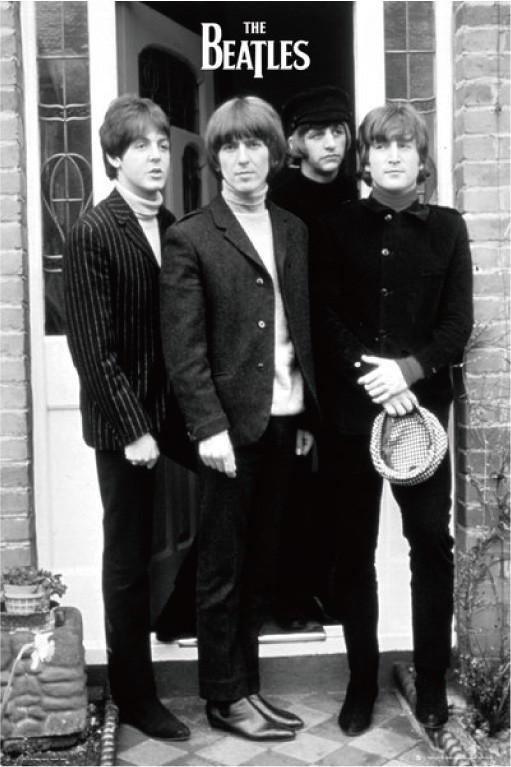Lock Poster THE BEATLES Beatles 1965 ABBEY ROAD 61 Centimeters X91 Centimeter