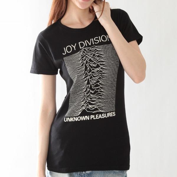 "JOY DIVISION ""Unknown Pleasures""女士T恤"