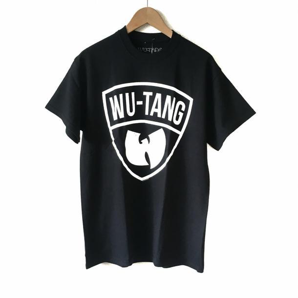 7bdd525d38b Rock T shirt band T shirt Wu-Tang Clan Wu-clan new vintage logo T shirt  black rap HIPHOP print T shirt limited T shirt short sleeve T shirt crew  neck T ...