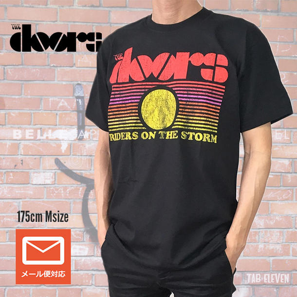 c75ad01e tab11: Lock T-shirt band T-shirt the DOORS the doors RIDERS ON THE ...