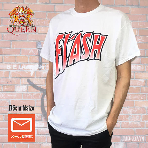 34c7ced1e Lock T-shirt band T-shirt QUEEN queen logo T-shirt FLASH flash Freddie  Mercury Bohemian rhapsody band T navy S MT shirt